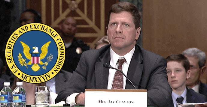 image of Jay Clayton in session