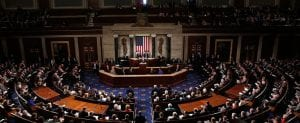 US Congress holds a meeting in Washington D.C.