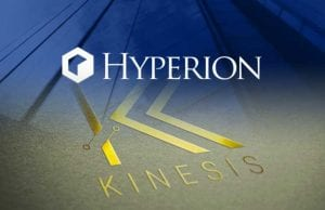 Company logos of Hyperion and Kinesis