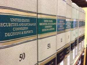 Books of Securities and Exchange Commission Decisions and Reports