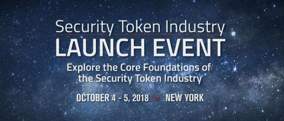 Security Token Launch Event Details from Security Token Academy Website