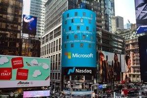 Microsoft Azure Blockchain Partners with Nasdaq Financial Framework