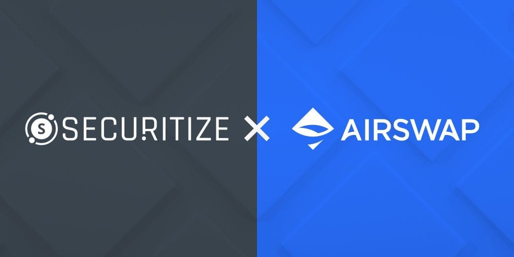 AirSwap Facilitates First Compliant Security Token Transfer on a Public Blockchain
