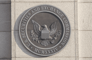 sec official seal on the building-min