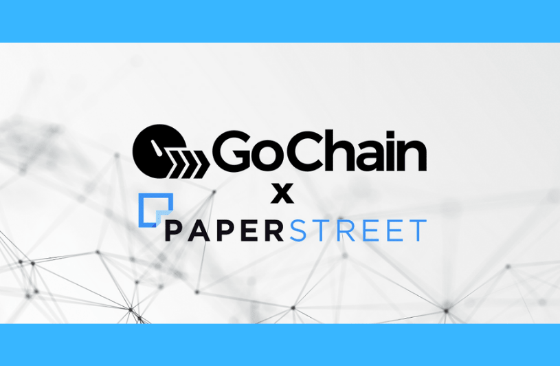 GoChain Partners with Paperstreet to Streamline Security Token Offerings on the $GO Platform