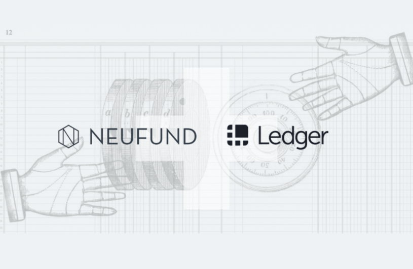 Neufund Partners with Ledger to Establish a New Means of Security Token Management