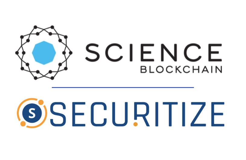 Science Blockchain Announces They Will Utilize the Securitize's Digital Securities (DS) Protocol for Their Security Tokens