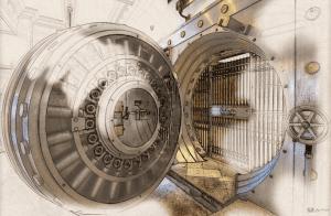bank vault cartoonized-min