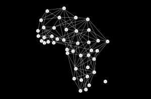 blockchain network visual