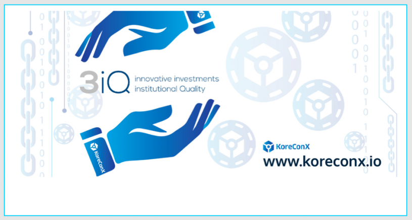 Canadian-based 3iQ Corp Choses KoreConX Protocol for Digital Securities Offering