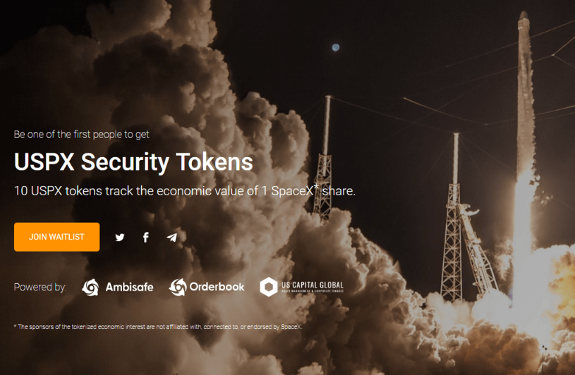 A New STO Will Allow Investors to Purchase Tokenized SpaceX Stocks