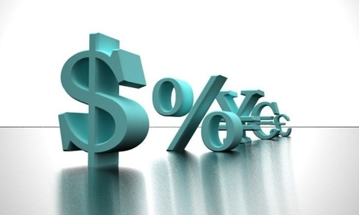 Image of Dollar and Percentage Signs