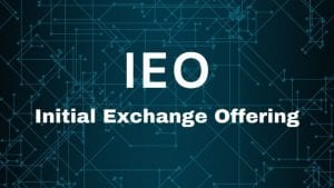 Initial Exchange Offering (IEO) after the U.S. SEC issued an investor alert warning about IEOs