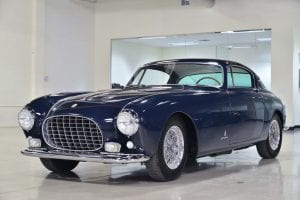 Classic Blue Ferrari Tokenized with Security Tokens