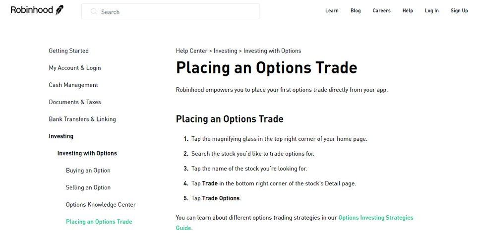Option trading commissions comparison