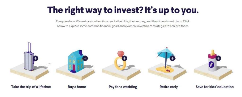 Sofi Invest Goals
