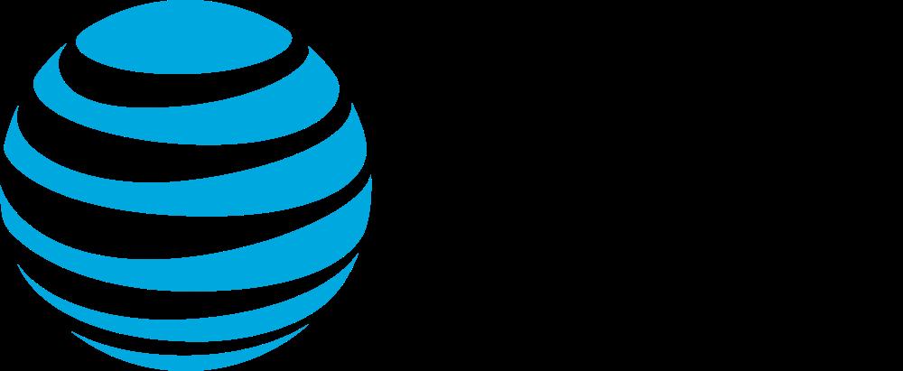 AT&T logo on white background