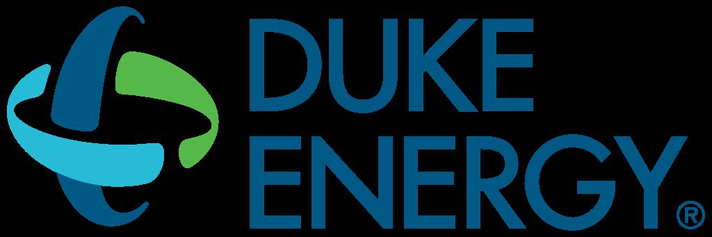 Duke Energy logo on white background