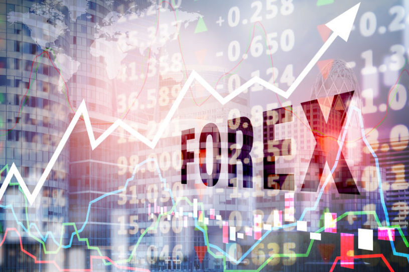 A graphic image of Forex trading charts which are used to compile the most comprehenshive list of forex market statisticts